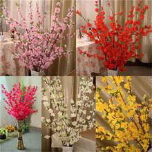 Fake Flowers For Home Decor Online Get Cheap Peach Flowers Aliexpress Com Alibaba Group