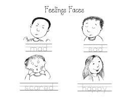 Pledge Of Allegiance Worksheet Feeling Faces Worksheet 20997 Plaa Co
