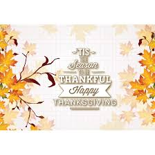 free vector illustration of the season to be thankful happy