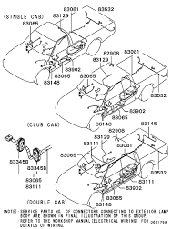 wiring u0026 attaching parts for mitsubishi l200 triton sportero