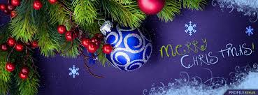Christmas Decoration For Facebook by Purple Merry Christmas Facebook Cover Merry Christmas Pic