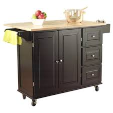 buy arpdale kitchen island with wood top base finish red