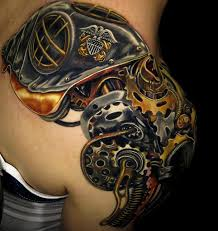 Octopus Tattoo Ideas Mechanical Octopus Tattoo U003c U003cshoulder Tattoos U003e U003e Pinterest