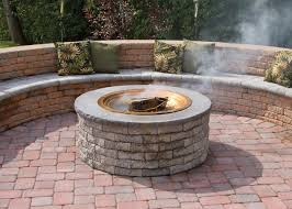Fire Pit Kit Stone by Outdoor Features Stone Depot