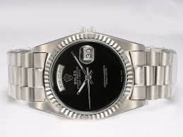 rolex black friday copy rolex day date automatic watch black dial 523 191 00