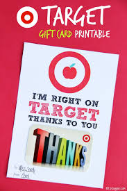 target gift card printable appreciation