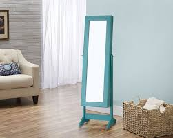 Free Standing Jewelry Armoire With Mirror Innerspace Luxury Products Cheval Jewelry Armoire With Mirror