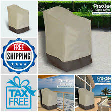 Waterproof Patio Chair Covers by Wicker Chair Outdoor Furniture Covers Ebay