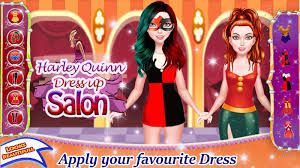 harley quinn dress up salon android apps on google play