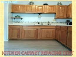 reface kitchen cabinet doors cost refacing thermofoil kitchen cabinets cabinet refacing full size of
