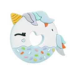 unicorn donut teether u2013 project nursery