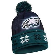 knit hat with led lights philadelphia eagles light up knit hat beanie logo nfl led lights