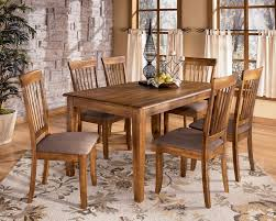 casual dining room table sets furniture with benches settings