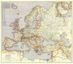 East Europe Map by 1940 Europe And The Near East Map Historical Maps