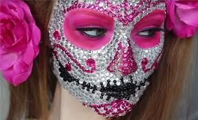 how to make a cod ghost mask the 15 best sugar skull makeup looks for halloween halloween
