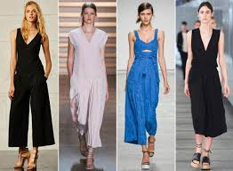 how to wear a jumpsuit how to wear jumpsuit culottes instyle com