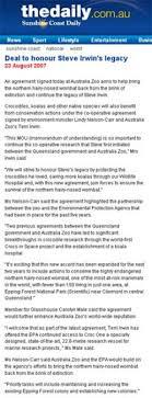 best cv exles australia zoo australia zoo about us in the media 2007