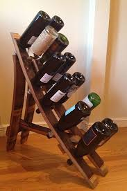 hand crafted french oak wine barrel wine rack reclaimed wooden