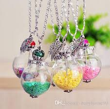 glass star pendant necklace images Wholesale bohemia colorful stars pendant necklace womens leaf jpg
