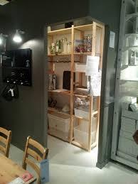 ikea creer sa cuisine une bonne idée vue chez tata ikea créer un petit celier