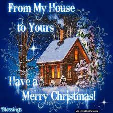 merry christmas house pictures photos