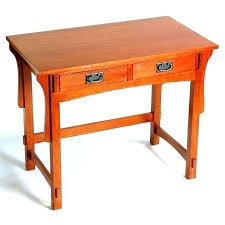 Corner Wood Desk Mission Style Computer Desks Oak Mission Desk Mission Small Oak