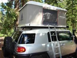 Fj Cruiser Roof Rack Oem by Roof Top Tent On Oem Rack Toyota Fj Cruiser Forum