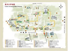 San Diego State Campus Map by Campus Map Of Fudan University Shanghai Campus Photos Fudan