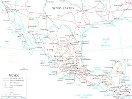 Map Of Mexico And Usa by Map Of California And Mexico Cool Map Usa Mexico With Cities