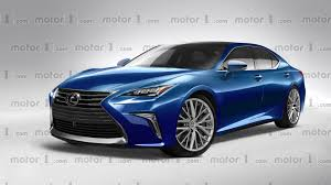 lexus sedan 2018 2018 lexus ls exclusively rendered