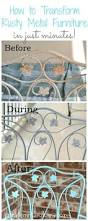 Iron Patio Furniture by Best 25 Painted Patio Furniture Ideas On Pinterest Painting