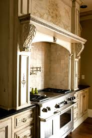 luxury handcrafted cabinetry of coastal european style kitchen