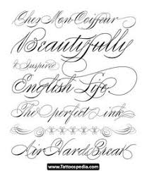 best solutions of cursive letters for tattoos about