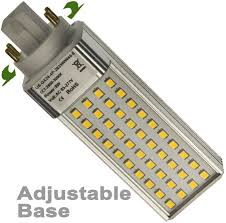 cfl led light bulb 4 pin g24q base 7 watts replaces 23 watts