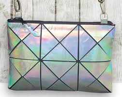 holographic bags holographic bag etsy