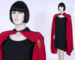 Cloak Halloween Costumes Red Cloak Etsy
