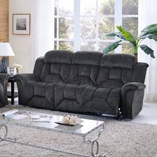 Contemporary Reclining Sofa With Topstitch by Sofas U2013 Adams Furniture