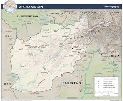 Continental Us Map Afghanistan Maps Perry Castañeda Map Collection Ut Library Online