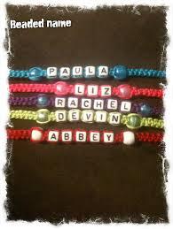 beaded bracelet name images Name bracelets custom made friendship bracelets jpg