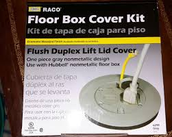 Hubbell Concrete Floor Boxes by Raco Round Floor Box Cover Carpet Daily