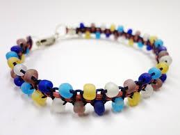 diy beaded cord bracelet images Hemp bracelet patterns that are great for summer jpg
