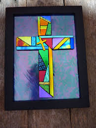 107 best fused glass crosses images on