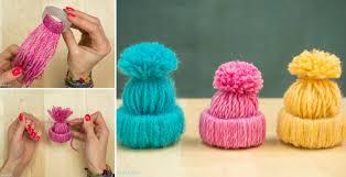 how to make yarn hats diy crafts handimania