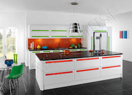 funky kitchens ideas splashback purity and elegance in every corner of your house
