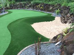 lawn aloha oregon outdoor putting green backyard