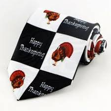 details about thankful turkey day mens necktie thanksgiving family