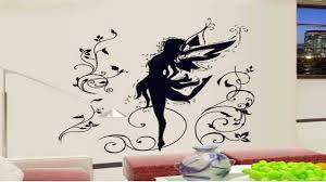 dancing fairy ballerina silhouette peel stick removable wall dancing fairy ballerina silhouette peel stick removable wall decals
