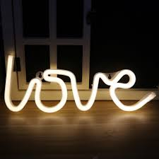 led lights for bedrooms 2018 neon night light love shaped led lamp for baby bedroom