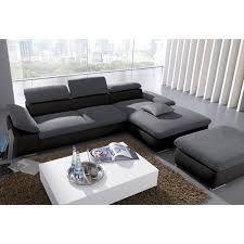 canapé d angle noir et gris canapé d angle au choix convertible en lit noir gris autres