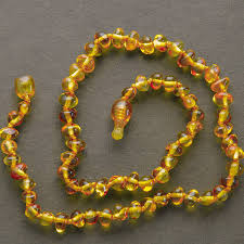 jewelry amber necklace images Lemon vines lemon vines 11 quot amber necklace green bambino jpg